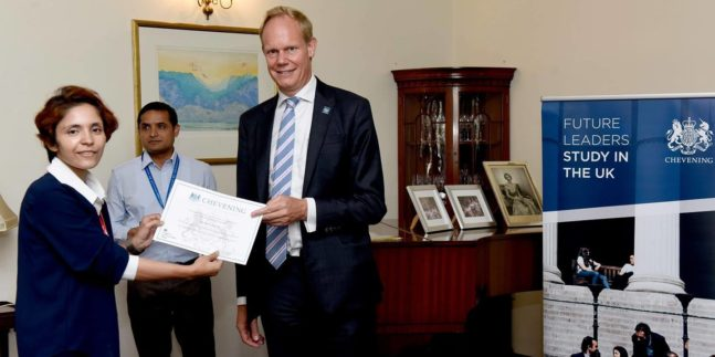 Nepal Conservation Research Fellow Awarded with Chevening Scholarship